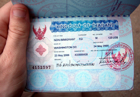 Thailand Tourist Visa Extension