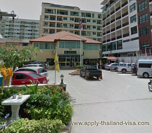 Thai Immigration Office - Pattaya